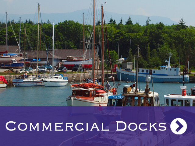 Commercial Docks Call to Action Button