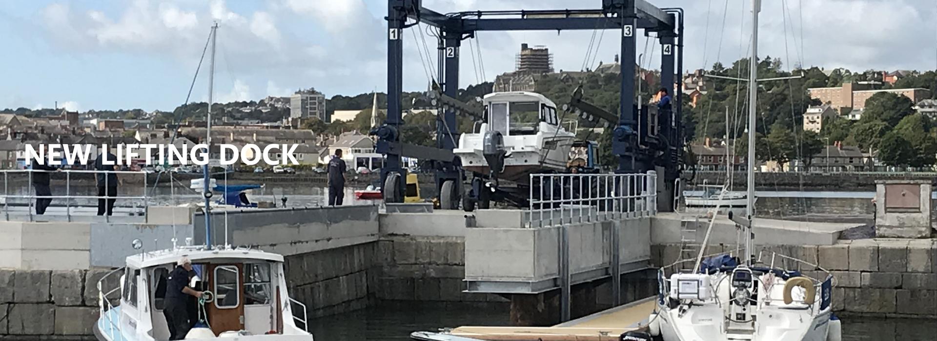 New Lifting Dock
